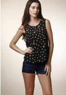 S$23.00 - Evie Black Printed Nautical Top. | www.Coupark.com - All Best Discount Deals in Singapore