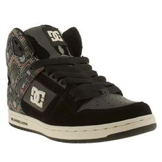 0261dea865 Get classic cool with the Rebound Hi SE from skating heavyweights DC Shoes.  The bright Aztec pattern with cartoon skull detailing adds a colourful edge  to ...