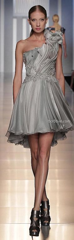 The little black dress just became the little Ash Dress - Tony Ward Haute Couture Fall Winter 2013