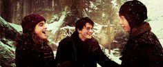 Harry Potter et ses amis <3