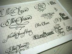 Calligraphy ideas by Jackson Alves, via Flickr