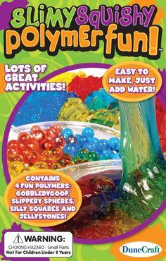 Slimy Squishy Polymer Fun Science Fun Kit