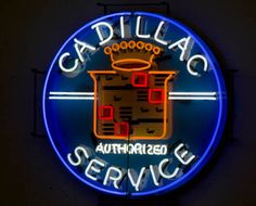 Image detail for -Cadillac sign from Las Vegas