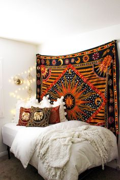 Hippie Bohemian Bedroom Decor Ideas (29)