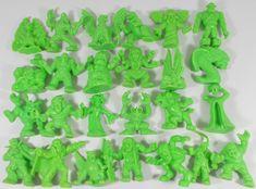 Monster in my Pocket - Series 1 - Neon Green - X 26 Mini Figures My Pocket, Classic Toys, Neon Green, Mini, Vintage, Vintage Comics, Primitive