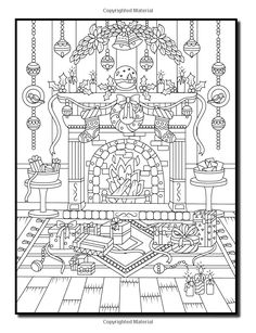 Amazon Christmas Coloring Book An Adult With Fun Easy
