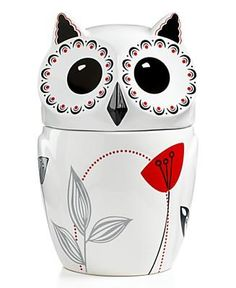 Owl cookie jar  I should have bought this at Macy's when I saw it now I cant find it ANYWHERE!!! its not on amazon or ebay!!