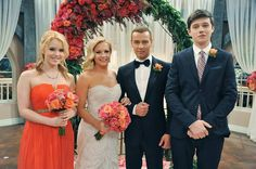 Melissa and Joey wedding