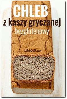 Bread with groats Buckwheat - Buckwheat bread Buckwheat Bread, Vegan Bread, My Favorite Food, Favorite Recipes, Good Food, Yummy Food, Wonderful Recipe, Polish Recipes, Foods With Gluten