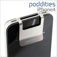 The Poddities Money Clip for iPhone 4/4S.