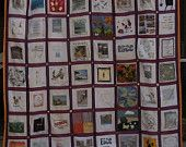"""Beautiful Friendship Quilt  Approx 65"""" X 85""""  Great gift for anyone"""