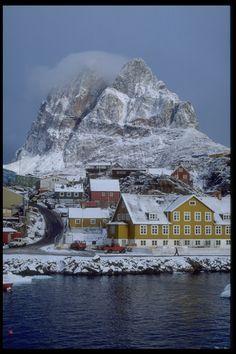 Uummannaq, Greenland #PolarRegions #ExpectTheExceptional www.blohmvossyachts.com