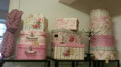 Pretty storage boxes