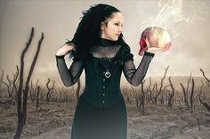 Gotycki, Fantasy, Ciemny, Kobiet