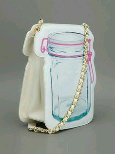 Mason jar hand bag cute