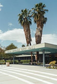Clark, Frey & Chambers. Palm Springs City Hall #1