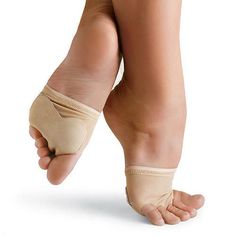 Dance Lyrical Jazz Bare Paws Shoes Nude- invisible dance socks, kind-of!! :)