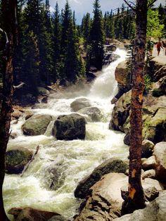 Alberta Falls, Colorado