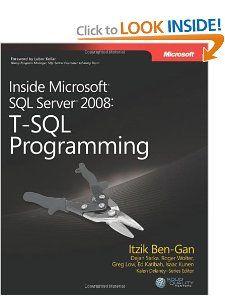 Inside Microsoft? SQL Server? 2008: T-SQL Programming (Pro-Developer) [Paperback]