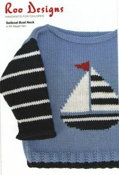 Roo Designs - Sailboat Sweater