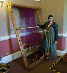 Instructions On How To Make A Viking Weaving Loom Sca