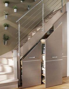 Idée relooking cuisine Escalier aménagé Lapeyre #Treppen #Stairs #Escaleras repinned by www.smg-trepp