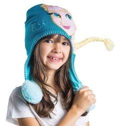 Frozen Elsa Kids Flipeez Action Hat Winter Hats deb81f2b56c5