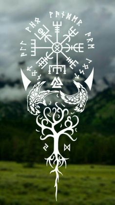 Symbols in Pagan Spirituality # Symbols … – Norse Mythology-Vikings-Tattoo Viking Tattoo Symbol, Norse Tattoo, Viking Tattoo Design, Celtic Tattoos, Viking Tattoos, 3d Tattoos, Body Art Tattoos, Sleeve Tattoos, Simbolos Tattoo