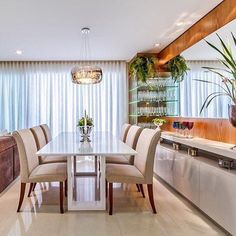 Dining Room Lighting Ideas For Every Style Help! 10 - targetinspira Dining Room Lighting Ideas For Every Style Help! Luxury Dining Room, Dining Room Lighting, Dining Room Design, Dining Room Table, Wood Table, Dining Rooms, Mirror Decor Living Room, Apartment Makeover, Dining Room Inspiration