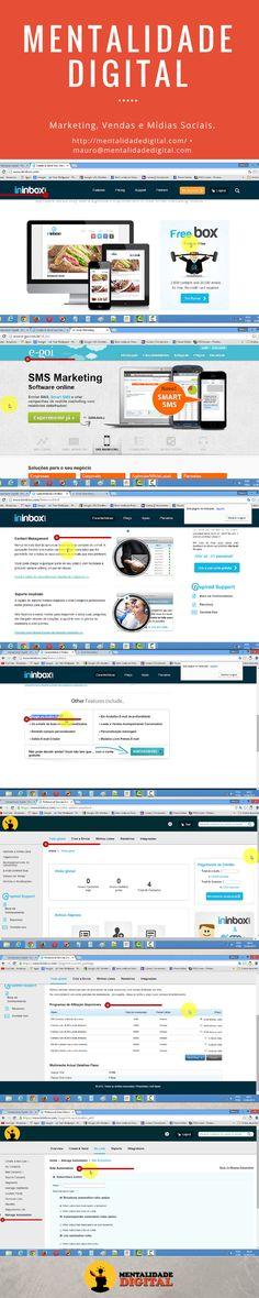 Conheça o Ininbox. Uma excelente ferramenta de email marketing gratuita para té 2000 contatos.