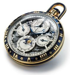 Grand complication blue enamel | Jaeger-LeCoultre Manufacture