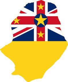 Flagmap Of Niue Polynesia Stuff Pinterest - Niue map