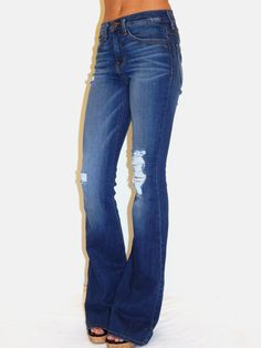 ❤️ these! Flying Monkey-Distressed Bootcut from Cocos Joplin