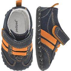 Originals  Frederick - Navy, Orange Suede upper All leather sole  $35.00