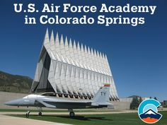 The US Air Force Academy in Colorado Springs is open to visitors daily. Don't miss the stunning piece of architecture known as the Cadet Chapel.