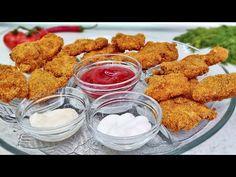 Nugety lepší než KFC, rychlý a zdravý recept na kuřecí nugety, vhodný pro děti - YouTube Kfc, Ethnic Recipes, Youtube, Cooking, Healthy, Chicken, Health, Kids, Youtubers