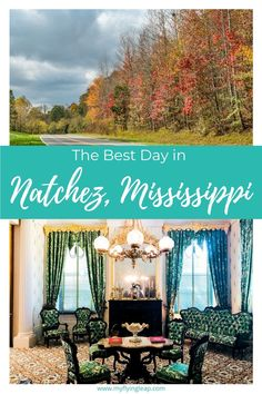 If you think there isn't much to Mississippi, think again! From historic homes and an amazing foodie vibe, there's a lot of things to do in Natchez. You can see the highlights in just one day, though you will want to stay longer! How to get to Natchez Natchez Mississippi, Mississippi Delta, Grande Hotel, Natchez Trace, Antebellum Homes, Visit Usa, Travel Usa, Travel Pics, Historic Homes