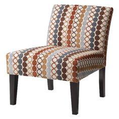 Avington Upholstered Slipper Chair - Circle Hoopla - target $170 (living room?)