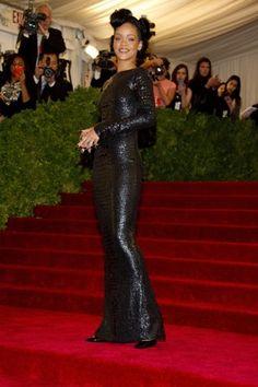 Rihanna in Tom Ford at Met Gala
