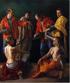 Darío Ortiz Robledo, Disputa de la Trinidad, Variaciones de un Tema clásico