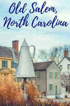 Throughout Old Salem in Winston-Salem, North Carolina, skilled craftsmen and interpreters live and work as though they were Moravian settlers in the late 1700s.