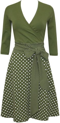 Outfit skirt Dress Sophie Dots allover in many colors Kleid Sophie dots allover in vielen Farben Dress Outfits, Fashion Dresses, Cute Outfits, Work Outfits, Dress Skirt, Dress Up, Dot Dress, Cute Dresses, Summer Dresses