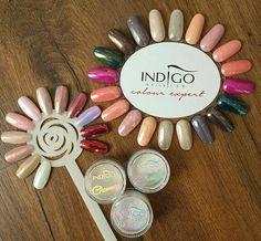 Indigo Glass Me Volcano Effect , Indigo Glammer Silver & Gold Effect <3