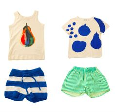 I am still loving everything in Bobo Choses' collection. Kids Fashion Blog, Baby Girl Fashion, Toddler Fashion, Fashion Children, Toddler Girl Style, Toddler Girl Outfits, Toddler Girls, Diy Clothes Jeans, Kids Clothes Sale