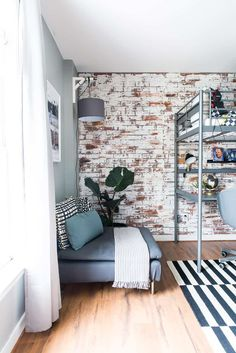 Fake Brick Wall Bedroom Unique How to Install Faux Brick Paneling Place Of My Taste Faux Brick Panels, Brick Paneling, Brick Walls, Kitchen Pegboard, Ikea Pegboard, Painted Pegboard, Pegboard Storage, Fake Brick Wall, Brick Wall Bedroom