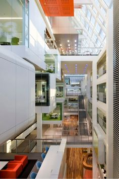 Macquarie Bank - Sidney - Clive Wilkinson Architects