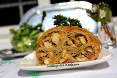 Cooking with Zoki: Pileći rolat sa šampinjonima