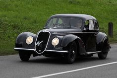 Alfa Romeo 6C 2500 Sport Berlinetta (1939) by Carrozeria Touring