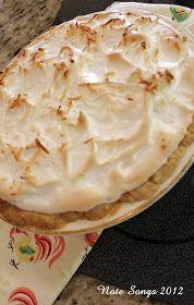 Note Songs: Aunt Alma's Coconut Cream Pie