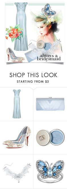 """""""Always a Bridesmaid"""" by kari-c ❤ liked on Polyvore featuring Ghost, GCGme, Christian Louboutin and alwaysabridesmaid"""